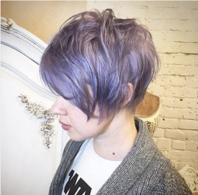 long pixie haircut 2019