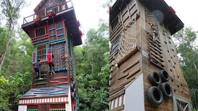 Harga Tiket dan Aktiviti Menarik di Taman Tema Escape, Teluk Bahang