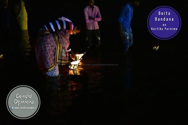 Boita Bandana On Kartika Purnima At Gadagadia Ghata, Mahanadi