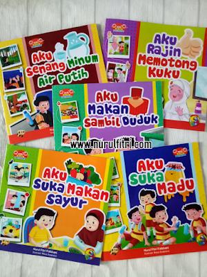 Buku Anak Seri Aku Sehat Seperti Rasulullah