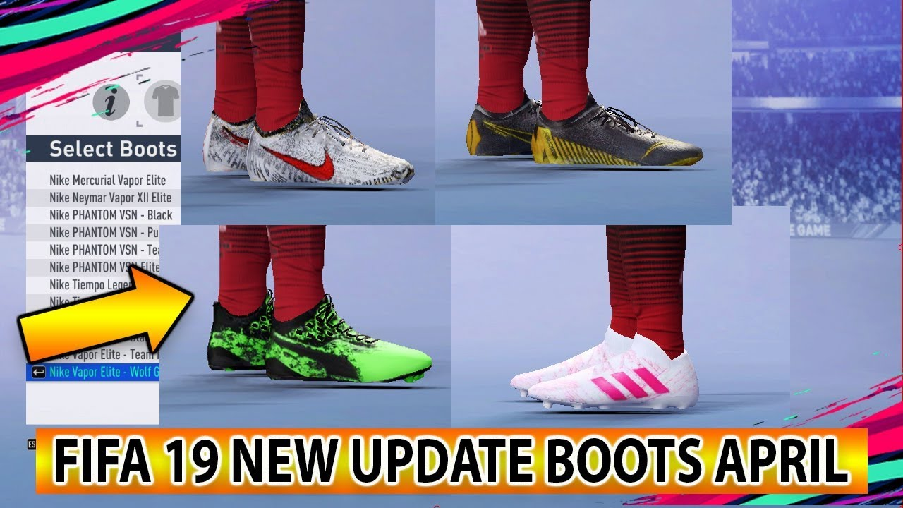 quemar Catastrófico Aprovechar  FIFA 19 Bootpack April 2019 by IyasZaen ~ SoccerFandom.com | Free PES Patch  and FIFA Updates