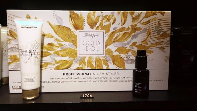 Offre Steampod de L'Oréal, avec crème et sérum, limité à 2 exemplaires.