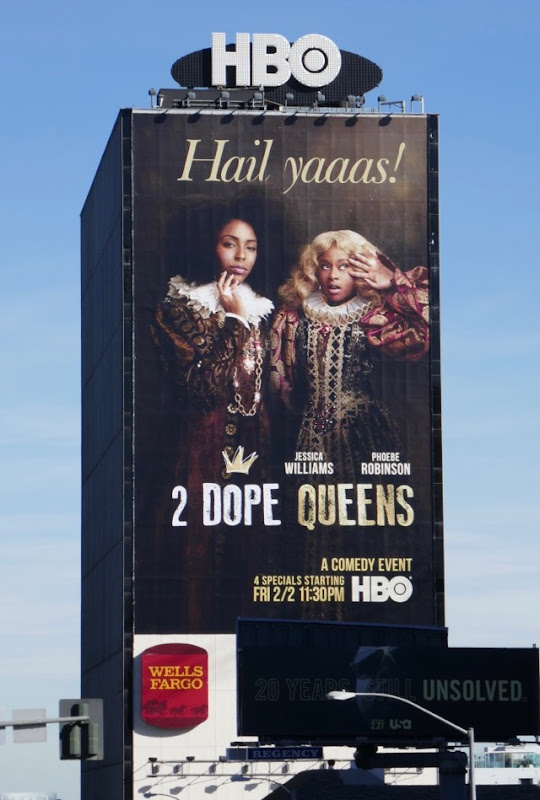 Hail Yaaas 2 Dope Queens billboard