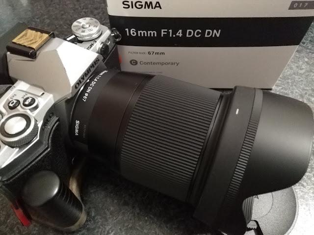 E-M5 Mark II + SIGMA 16mm F1.4 DC DN