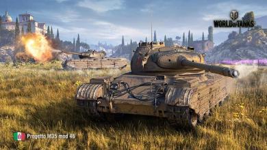 El Progetto Italiano M35 mod. 46 llega a su fin en wot!