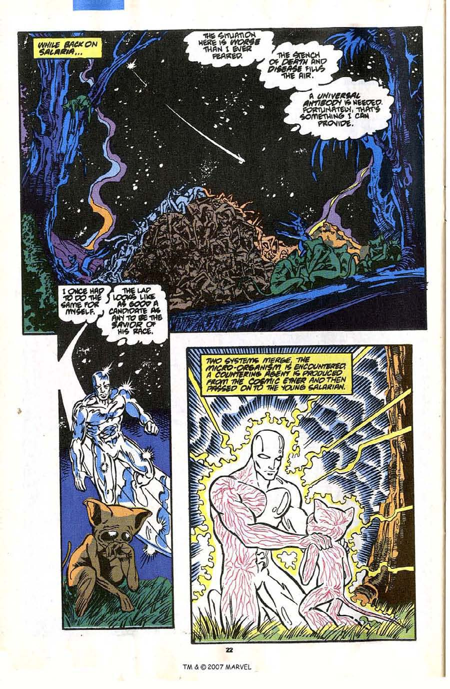 Read online Silver Surfer (1987) comic -  Issue #35 - 24