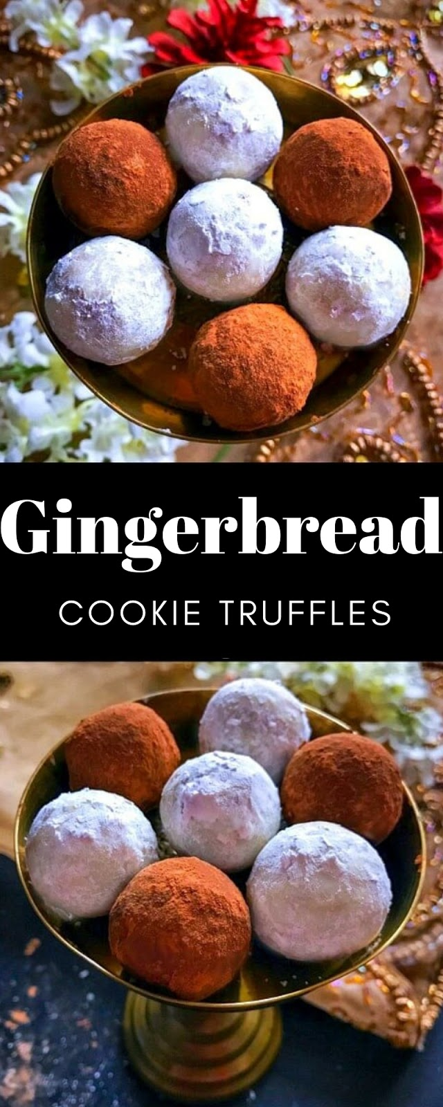 Gingerbread Cookie Truffles