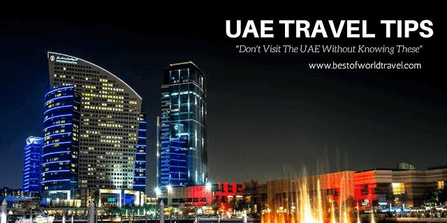 Dubai rules for tourists