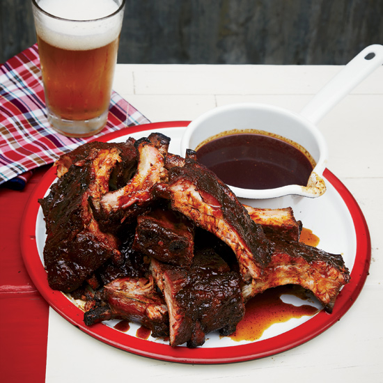 Molasses-Smoked Baby Back Ribs | FeaturingMatt