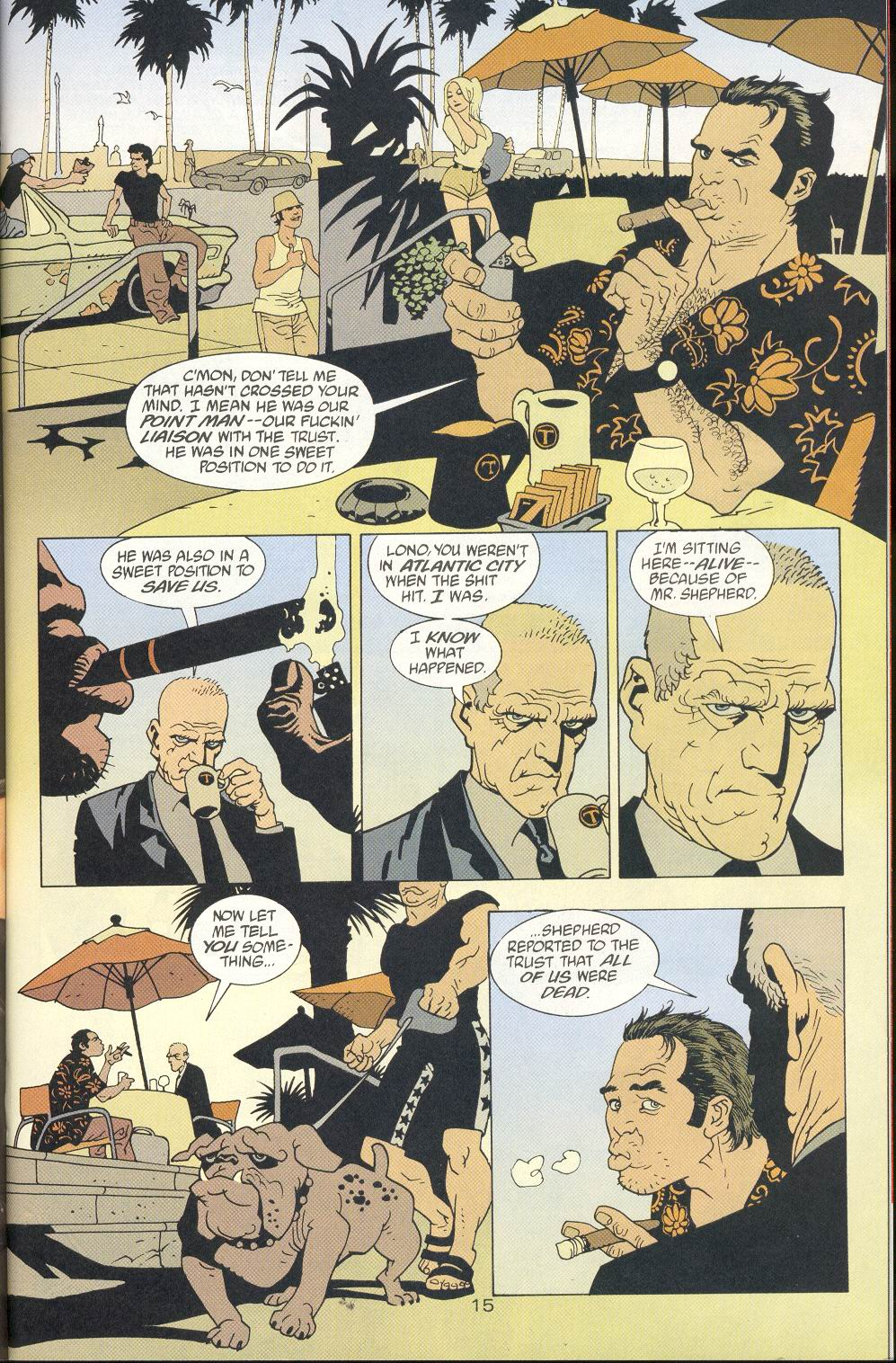 Read online 100 Bullets comic -  Issue #8 - 16