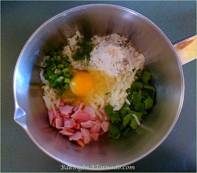 Green, Egg and Ham, a fun breakfast for St. Patrick's Day or any day. | Recipe developed by www.BakingInATornado.com | #recipe #breakfast #StPatricksDay