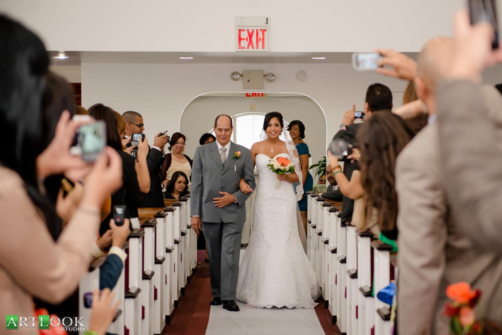 Grand Bridal Entrance