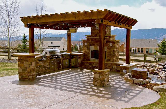 مظلات حدائق خشبية بخصم landscaping-outdoor-