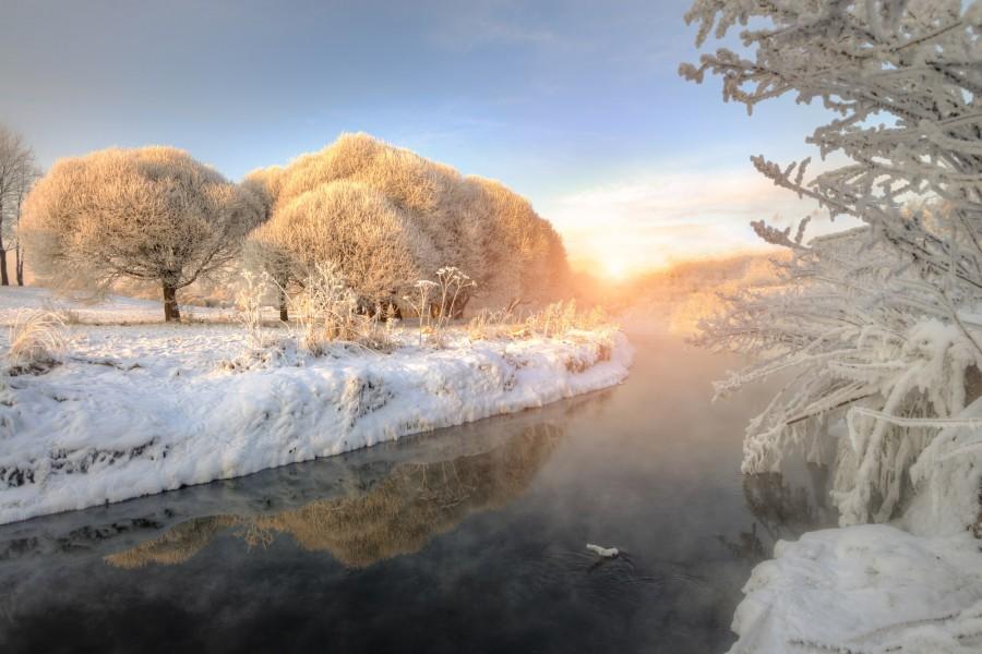 Зимняя Вуокса