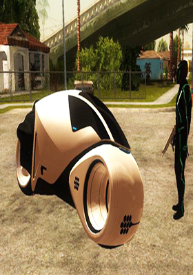 Free Download NEW Tron Bike with Tron skin Mod for GTA San Andreas.