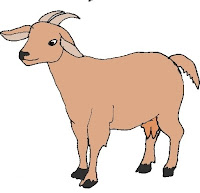 5 Lines on Goat in Hindi