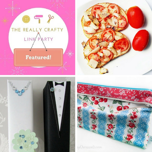 The Really Crafty Link Party #33 featured posts!