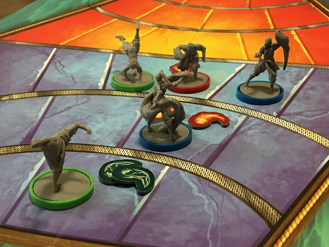 Board Game Review Legend of Korra Pro-Bending Arena by IDW Games Image by Benjamin Kocher