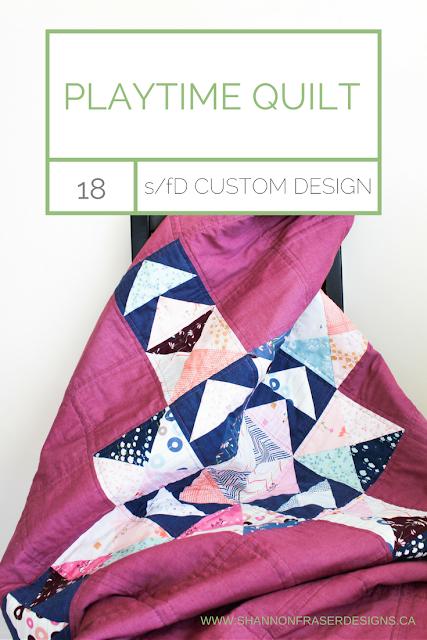 Playtime Quilt | Shannon Fraser Designs