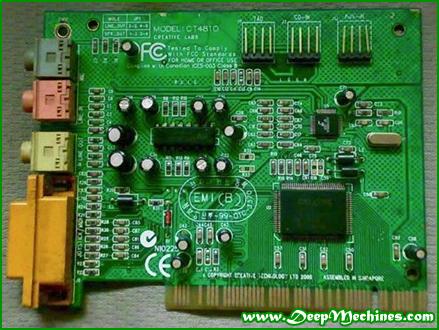 Gambar Perangkat Sound Card PCI
