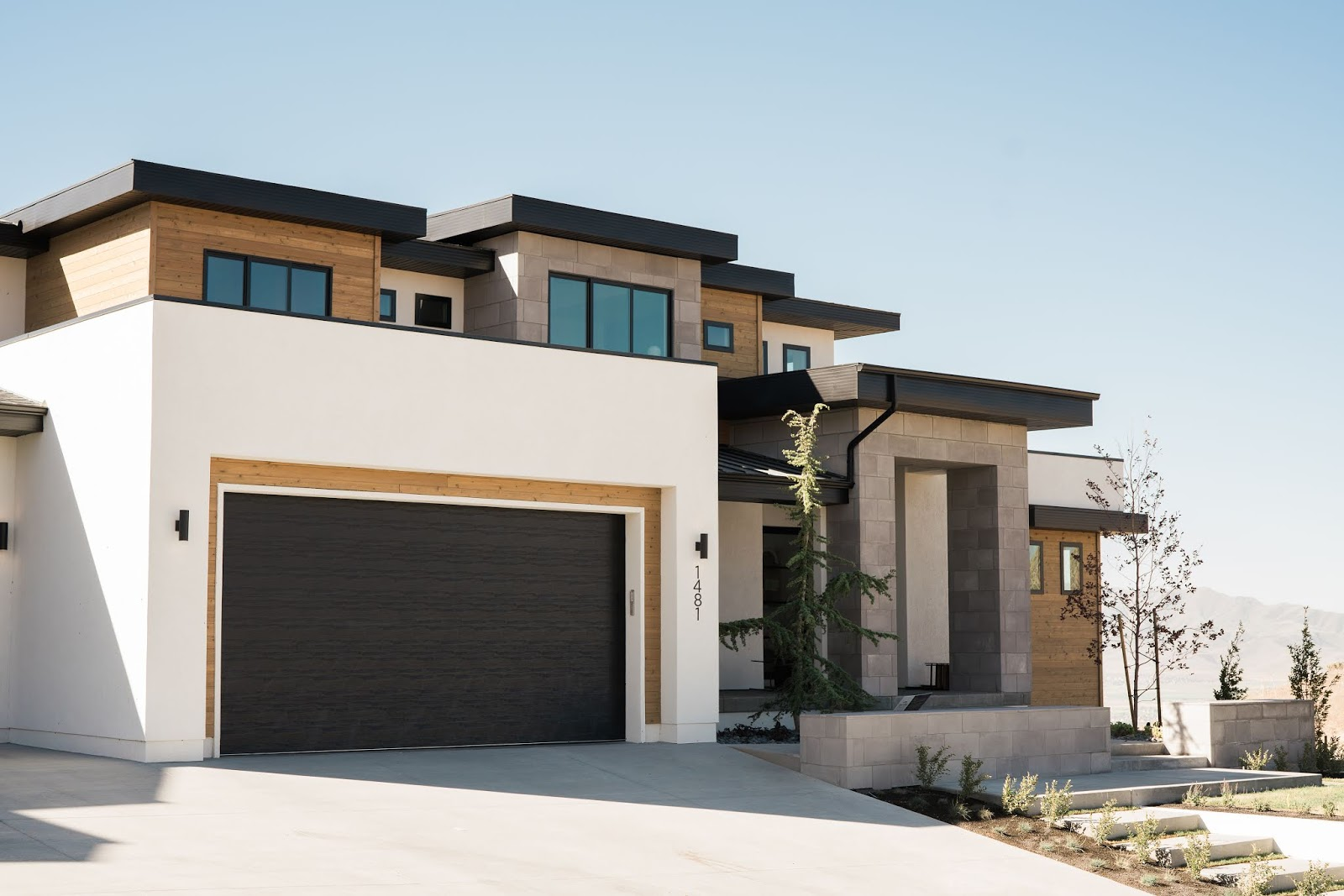 Modern House, Utah Home Builder