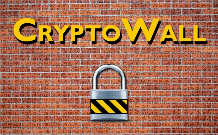 Cryptowall Ransomware Spreading Rapidly through Malicious Advertisements