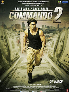 Commando 2 (2017) Hindi pDVDRip 300MB Audio Cleaned