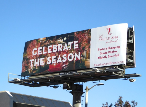 Celebrate the season Americana billboard