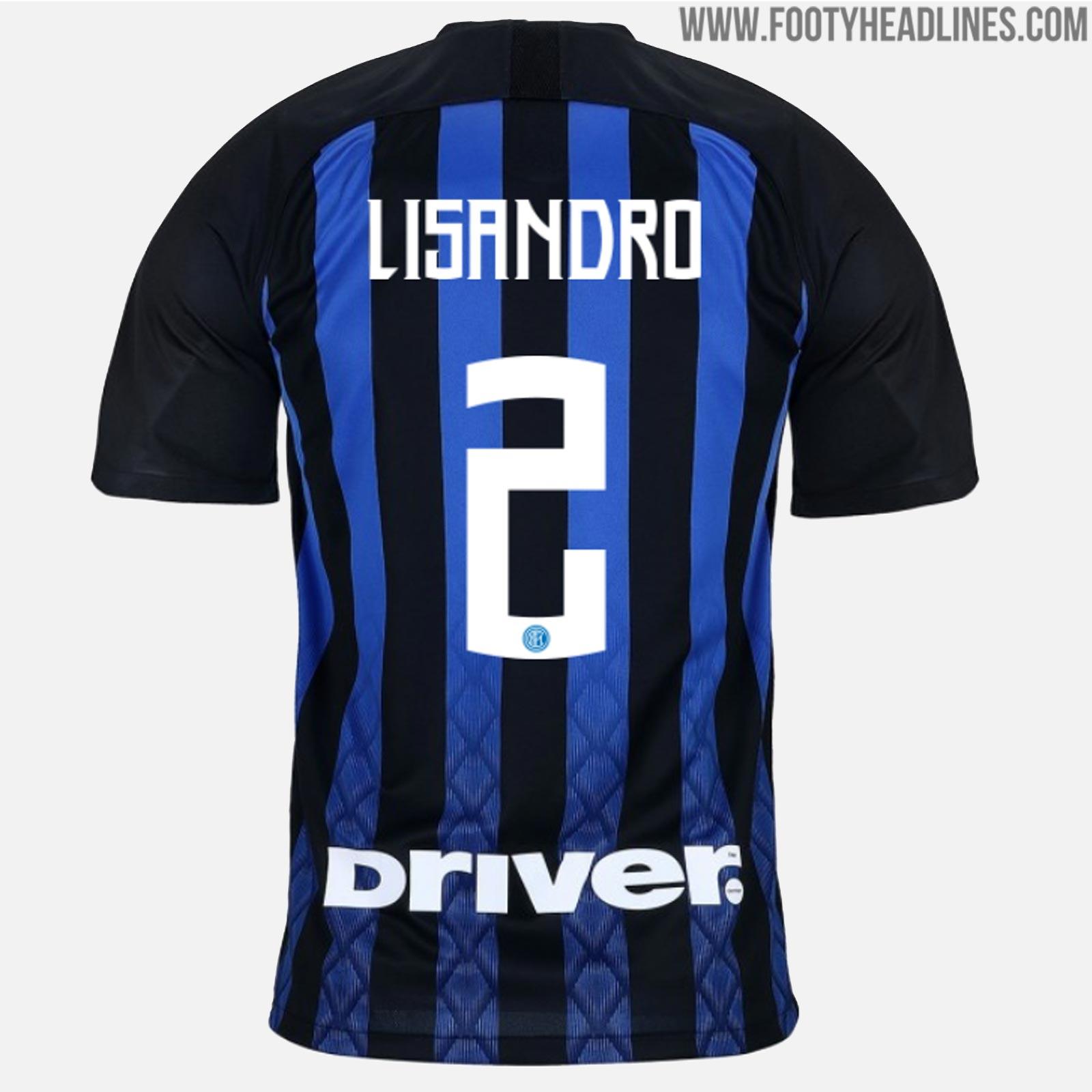 f1b048daf All-New Unique Inter Milan 18-19 Kit Font Revealed