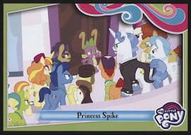 My Little Pony Princess Spike Series 4 Trading Card