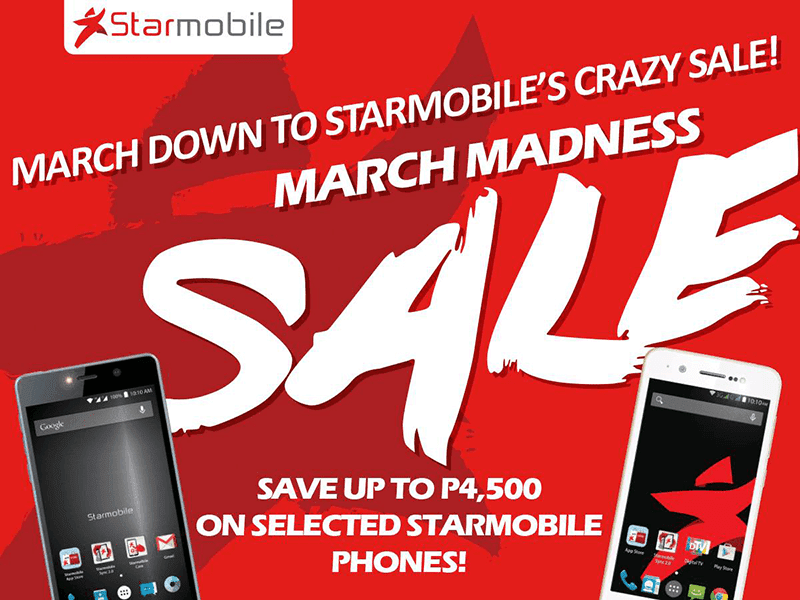 Starmobile March Madness Sale announced!