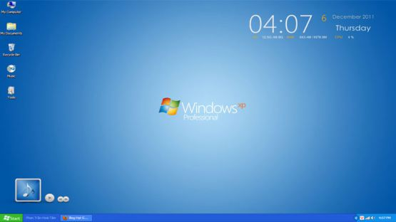 Windows XP SP3 screenshot 2