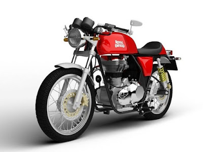2017 Royal Enfield Continental GT cafe racer image