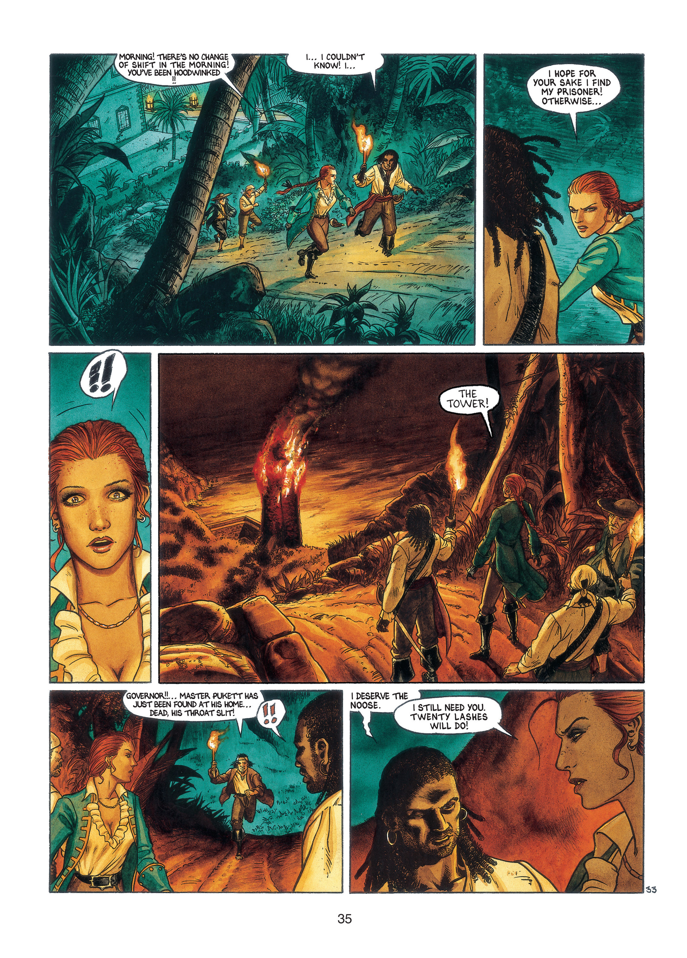 Read online Barracuda comic -  Issue #3 - 36