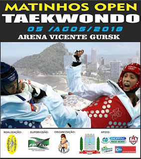 Taekwondo de Registro-SP brilha no Paraná