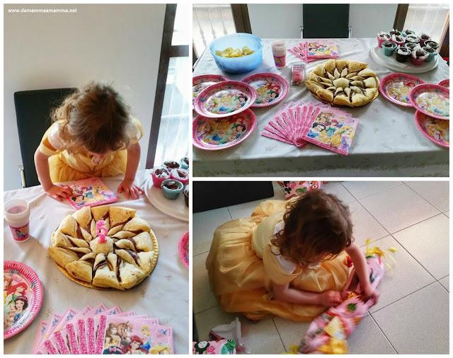 E sono 5! La festa di Compleanno a casa a tema Principesse Disney