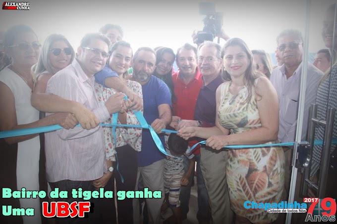 Prefeito Magno Bacelar inaugura duas UBSF que irá beneficiar centenas de famílias