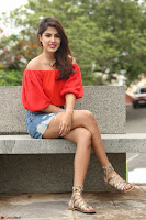 Rhea Chakraborty in Red Crop Top and Denim Shorts Spicy Pics ~  Exclusive 036.JPG
