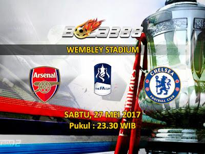 Situs Taruhan Bola Terpercaya - Prediksi Pertandingan Final Piala FA, Arsenal vs Chelsea 27 Mei 2017