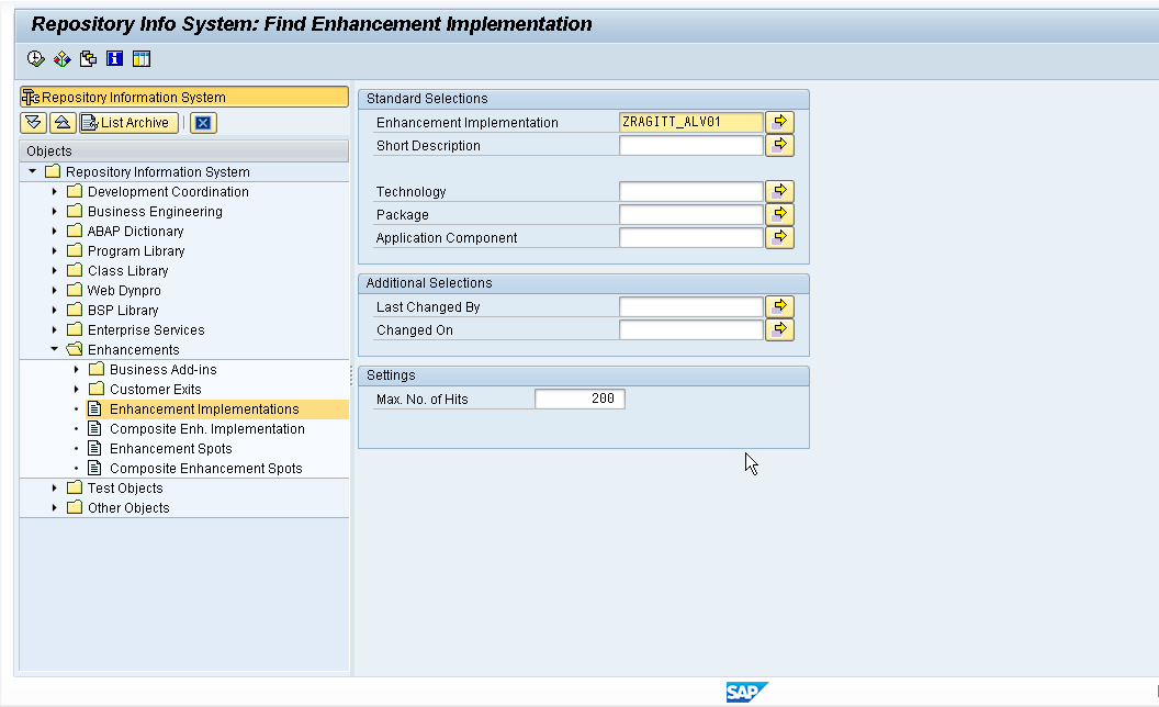 SAP ABAP Tips and Tricks: 2012