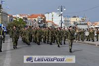 Έκλεψαν τις εντυπώσεις οι γυναίκες στρατιωτικοί στην παρέλαση για την απελευθέρωση της Μυτιλήνης (ΦΩΤΟ, ΒΙΝΤΕΟ)