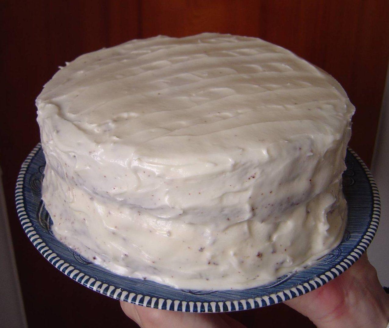 My Favorite Chocolate Cake With Hazelnut Cream Icing