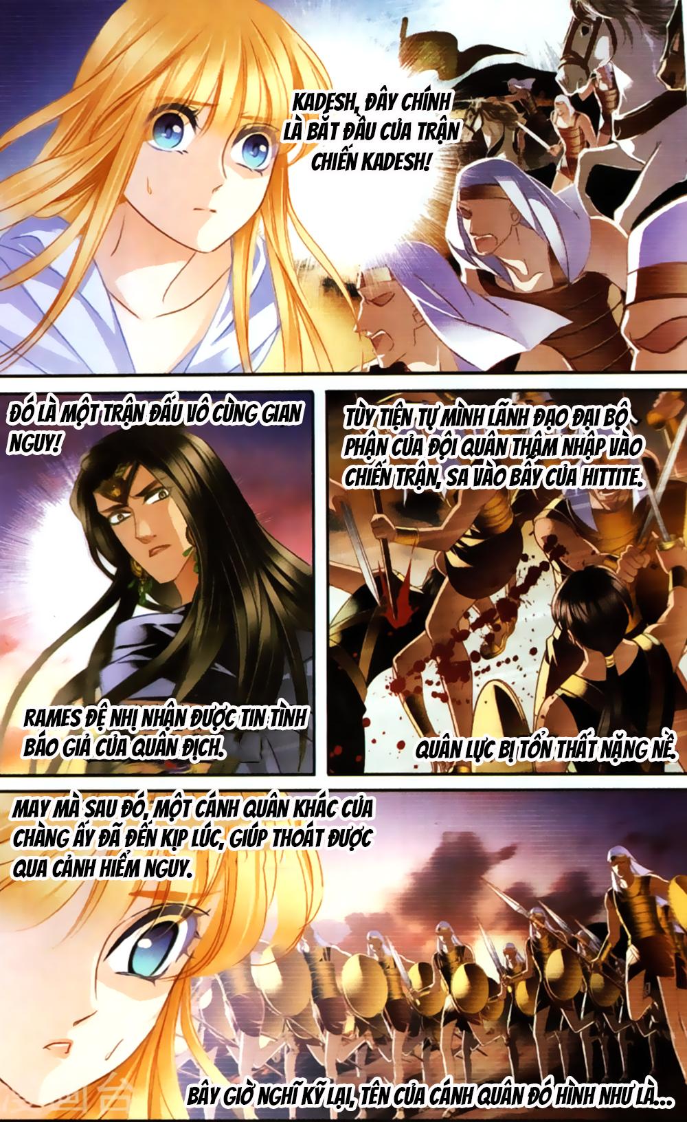 Sủng Phi Của Pharaoh – Chap 61.2