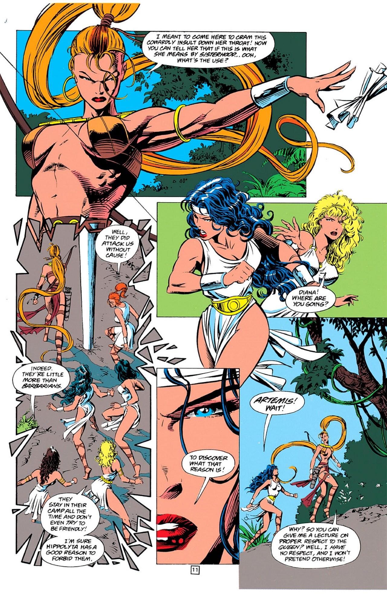 Read online Wonder Woman (1987) comic -  Issue #0 - 12