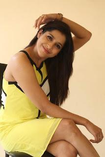 Rashmi Gautam New Stills at Guntur Talkies Movie Promotion