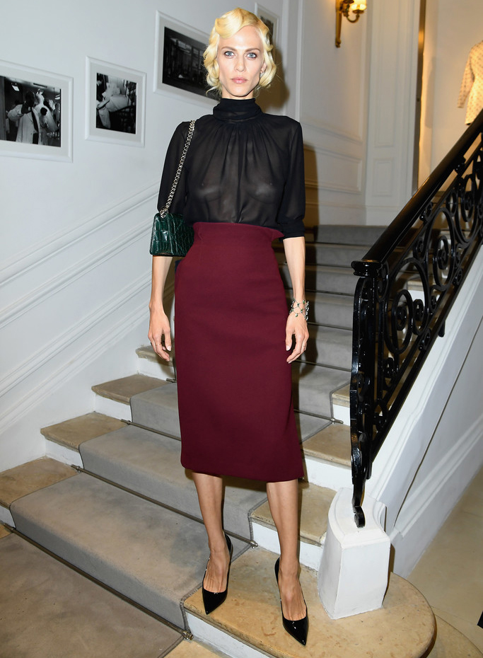 Dior Couture A/W 2016 Arrivals: Olivia Palermo, Aymeline Valade & More