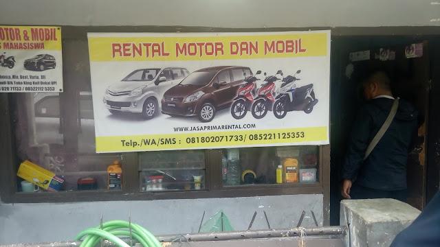 rental mobil dan motor murah di Bandung