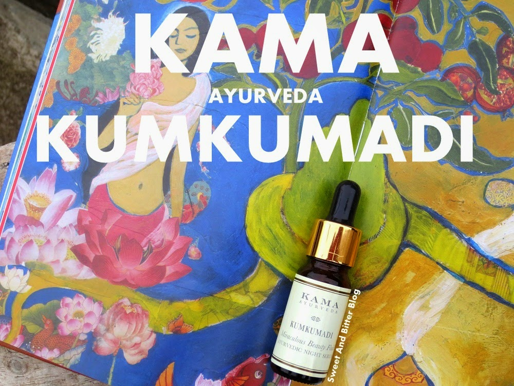 Kama Ayurveda KUMKUMADI Miraculous Beauty Fluid // Ayurvedic Night Serum