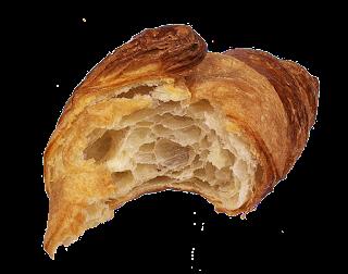 Croissants sem manteiga