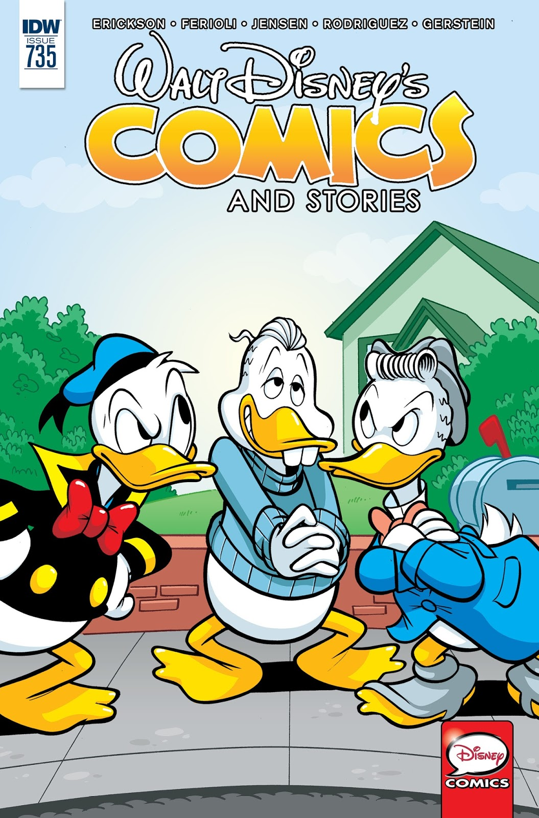 Walt Disneys Comics And Stories  2016 Webrip Gearloose Dcp